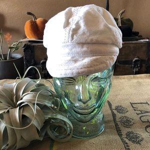 Pistil White Newsboy Hat